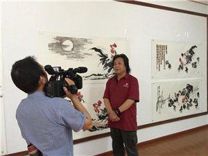 韩城画家《墨豪庐山画展》在江西省九江市庐山举行
