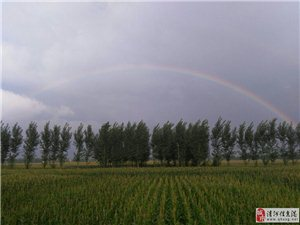 雨后的彩虹
