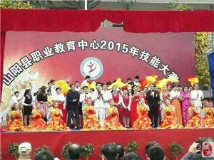 山阳县职业中学2015技能大赛