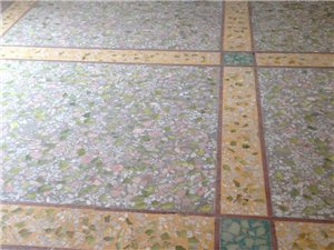 专业水磨石地板制作