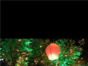 夜色阑珊的天成广场好热闹!
