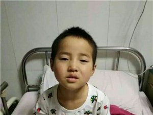 伸出大家的援助之手,救救这个五岁的孩子吧!