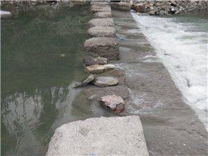 城西街道办事处洞塘居委百花园下河那里的拦沙坎就是豆腐渣工程水都可以冲烂