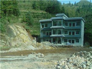 鸡场坪乡高山村村委办公室从建新办公楼
