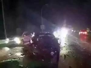 盘锦向海大道发生交通事故,有一个营口车和盘锦车,寻家属,大家速度转发