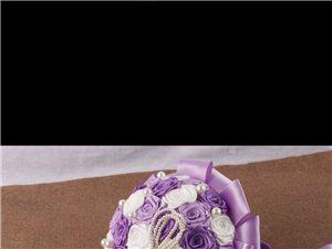 婚礼用高级手工定制手捧花、胸花 特色婚礼