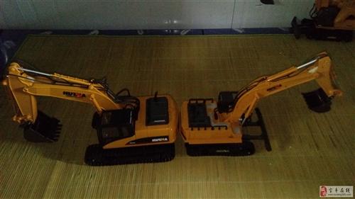儿童玩具电动遥控挖掘机