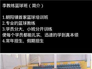 李教练青少年篮球培训班(常年招生)