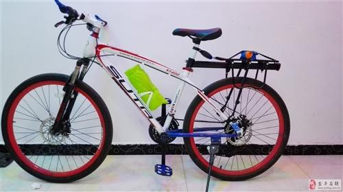 精致山地自行车