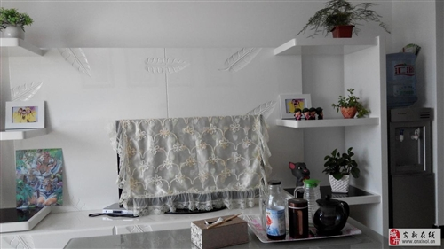 欧式整体电视背景墙和柜