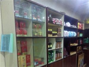 茶叶店货架低价出售