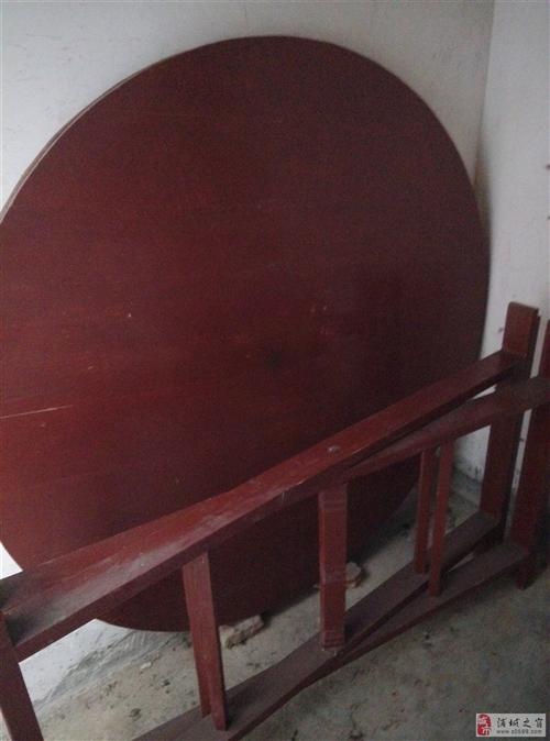 实木大圆桌