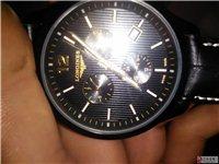 出售浪琴黑色手表一块。