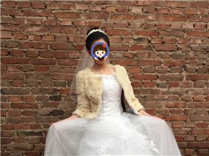 出租全新婚纱,棉敬酒服