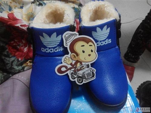 儿童保暖棉鞋男
