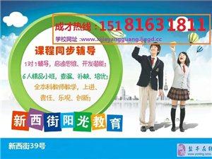 绵阳东方阳光教育,盐亭中小学课外辅导。