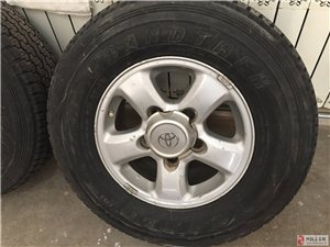 丰田轮毂轮胎