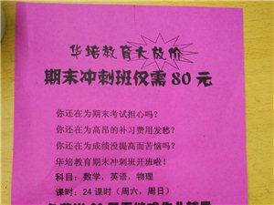 华培教育期末冲刺