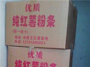 水磨王村千亩红薯基地红薯纯红薯粉条