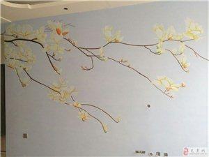 墙体手绘(环保,防水,可擦洗,防裂缝)