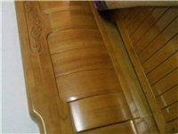 出售橡木床一张
