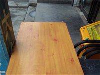 出售折叠桌两个