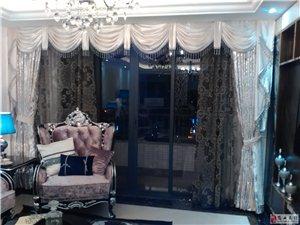 在家做窗簾^o^