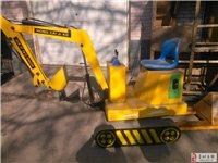 出售两台儿童挖掘机游乐设施