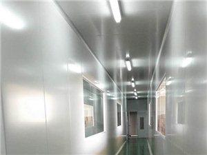 承接厂房彩钢板隔墙,无尘车间安装