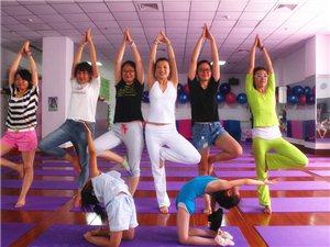 康美瑜伽健身馆,爱上的不止是一点点