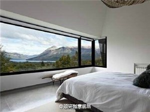 绝美卧室,享受睡觉睡到自然醒,我是醒了,但是这个雨什么时候停啊!