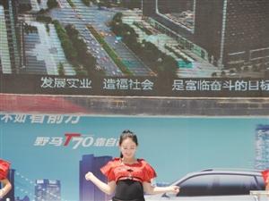 张家川首届(野马)汽车展在行政广场中心火热进行中。。。