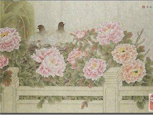 青年画家周君工笔花鸟画作品欣赏
