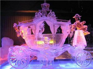 2015年潢川首届大型国际冰雕展即将开幕
