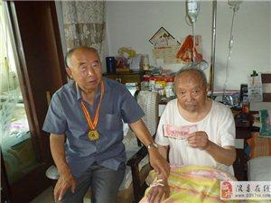 (全国孝亲敬老之星)王俊杰走访慰问离休干部韩学忠