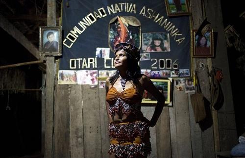 亚马逊雨林深处的部落选美