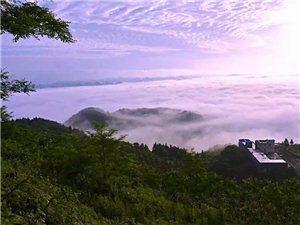 第一次看见梦寐以求的云海
