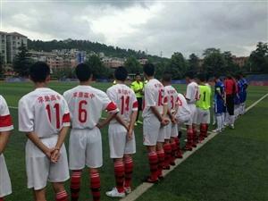 湄潭求高足球队获得亚军(省级示范性普通高中足球赛总决赛)