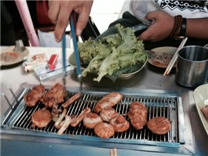 原生态地摊烤肉