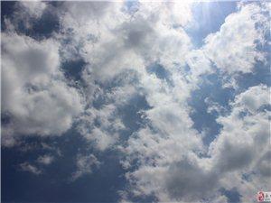 今天永城的天空自带特效了吗?