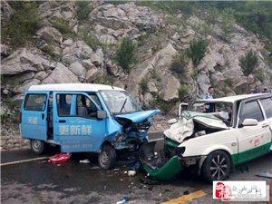 白山通往临江方向道路发生重大交通事故8伤