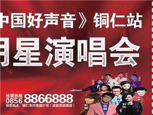 中国好声音(铜仁站)明星演唱会七夕情人节(8月20)开唱!