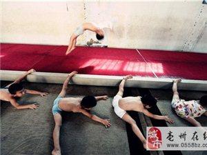 """亳州体操儿童的""""魔鬼式""""暑假"""