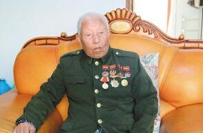 91岁抗战老兵14岁加入游击队 曾参加过百团大战