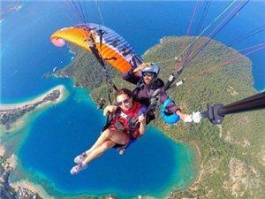 去做一次土耳其的滑翔��