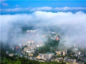 惊呆了,最美咸丰县城全景应该是这样的!