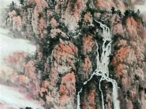 画家张弛的山水画欣赏