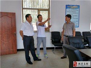 青企联部分会员到东官营镇参观美丽乡村