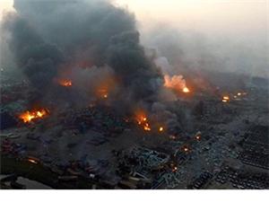 天津滨海新区发生爆炸
