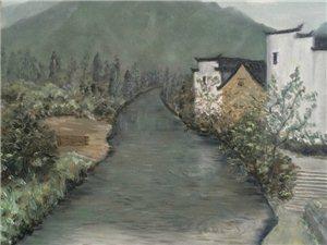 青年画家朱诗凯原创油画欣赏